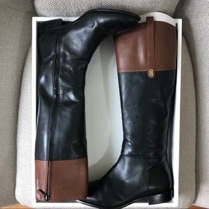 Cole Haan Brennan Leather Riding Boots D42675
